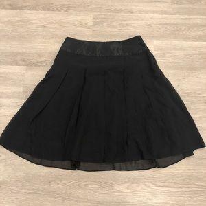 Club Monaco Silk Knee Length Skirt Size 0